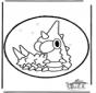 Disegno da bucherellare Pokemon 4