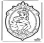 Disegno da bucherellare Principessa Disney 2