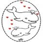Disegno da bucherellare - San Valentino 4