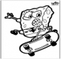 Disegno da bucherellare SpongeBob