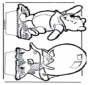 Disegno da bucherellare - Winnie the Pooh 5