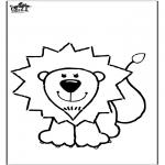 Disegni da colorare Animali - Disegno da leone