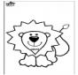 Disegno da leone