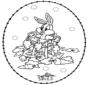 Disegno da ricamare ' coniglio
