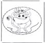 Disegno da ricamare ' personaggi di fumetto 10