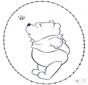 Disegno da ricamare Pooh 2