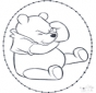 Disegno da ricamare - Winnie the Pooh 1