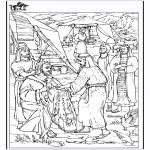 Disegni biblici da colorare - Disegno - Giacobbe
