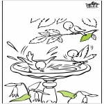 Disegni da colorare Vari temi - Disegno - primavera