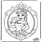 Personaggi di fumetti - Disney ' Principessa Bella 1