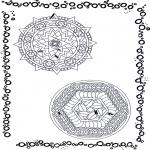 Disegni da colorare Mandala - Doppio mandala 10