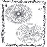 Disegni da colorare Mandala - Doppio mandala 6