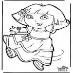 Disegni per i piccini - Dora 11