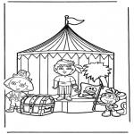 Disegni per i piccini - Dora 13