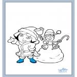 Disegni per i piccini - Dora 17