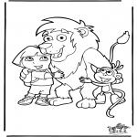 Disegni per i piccini - Dora 2