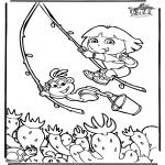 Disegni per i piccini - Dora 6