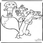 Disegni per i piccini - Dora 9