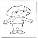 Disegni per i piccini - Dora