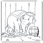 Personaggi di fumetti - Dumbo 1