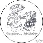 Disegni da colorare Temi - È il tuo ..  compleanno