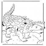 Disegni da colorare Animali - Edmontonia