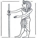 Disegni da colorare Vari temi - Egiziano 1