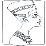 Disegni da colorare Vari temi - Egiziano 2