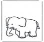 Elefante per bambini