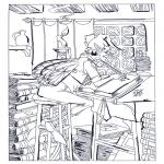 Disegni da colorare Vari temi - Elfo al lavoro
