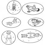 Lavori manuali - Etichetta per regali 3