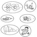 Lavori manuali - Etichetta per regali 6