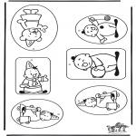 Lavori manuali - Etichetta per regali Bumba