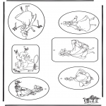 Lavori manuali - Etichetta per regali Cenerentola