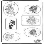Disegni da colorare Temi - Etichette per la festa della mamma