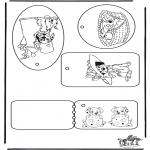 Lavori manuali - Etichette per regali - La carica dei 101