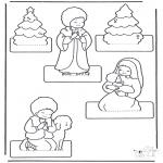 Disegni da colorare Natale - Fai il tuo presepe 2