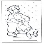 Disegni per i piccini - Famiglia di orsi