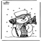 Fantoccio di neve 1