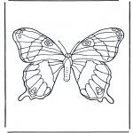 Disegni da colorare Animali - Farfalla 1
