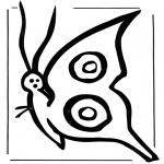 Disegni da colorare Animali - Farfalla 2