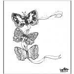 Disegni da colorare Animali - Farfalla 3
