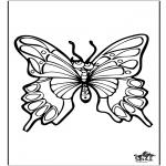 Disegni da colorare Animali - Farfalla 4