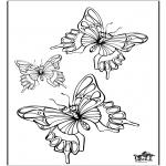 Disegni da colorare Animali - Farfalla 5