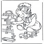 Disegni per i piccini - Fattoria miniatura