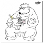 Festa del papà - orso