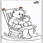 Disegni da colorare Temi - Festa della mamma 11
