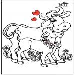 Disegni da colorare Temi - Festa della mamma 13