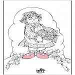 Disegni da colorare Temi - Festa della mamma 5