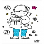 Disegni da colorare Temi - Festa della mamma 6